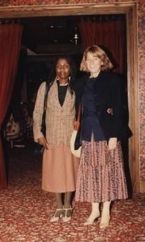 Avec Christina CERNA