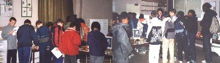 Les élèves du collège Maurice Utrillo