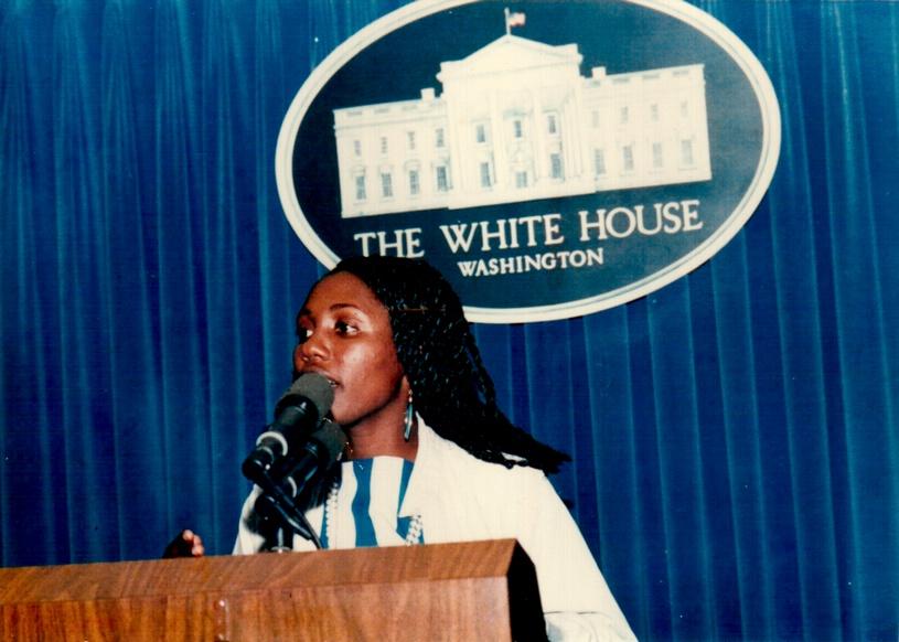 Maggy De Coster à la Maison Blanche